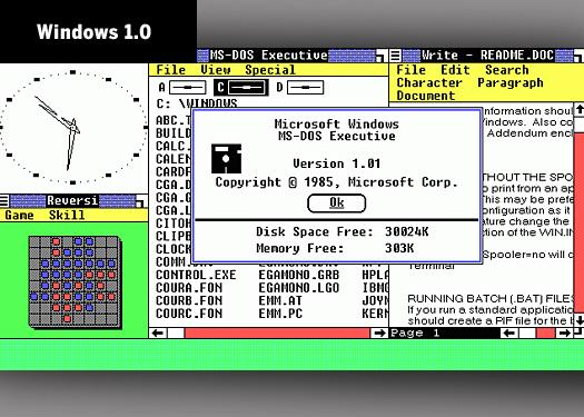 Microsoft Windows after 25 years: A visual history