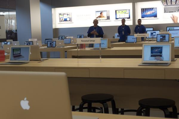 In pictures: Apple opens retail store in Penrith