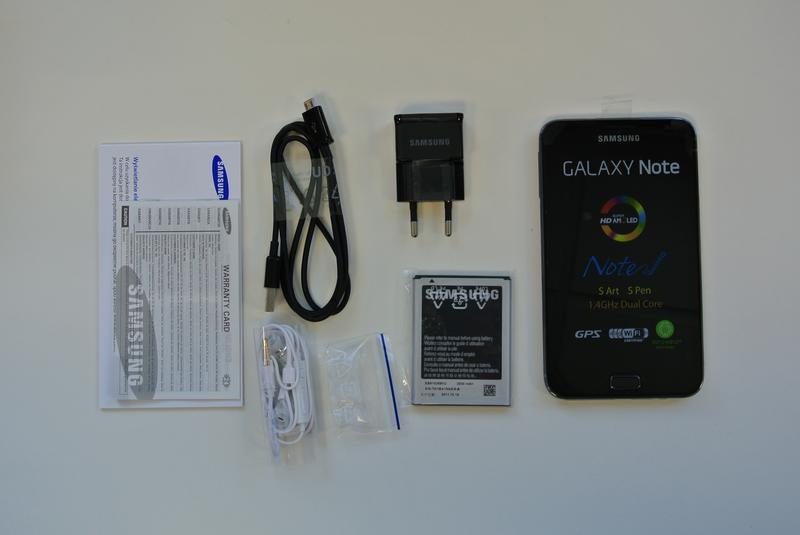 Samsung Galaxy Note: Unboxing and hands-on
