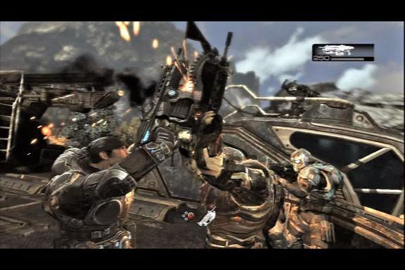 In pictures: Gears of War 2
