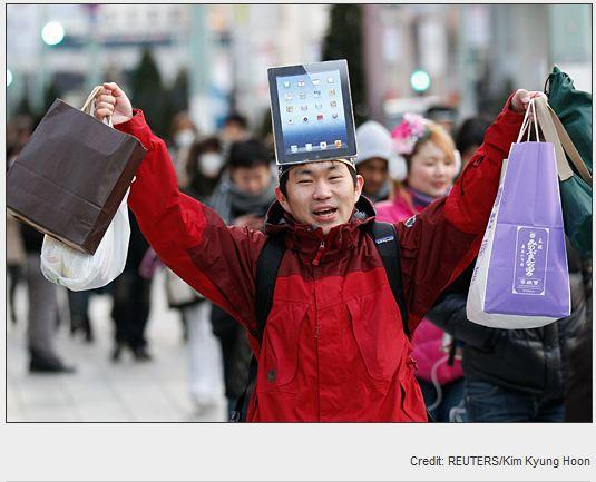 In Pictures: iPad mania … around the world