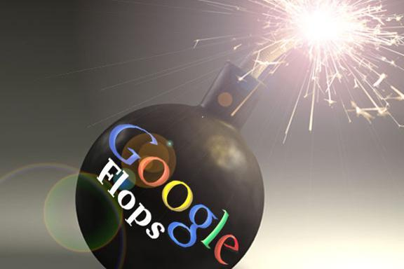 Top 10 Google flubs, flops and failures