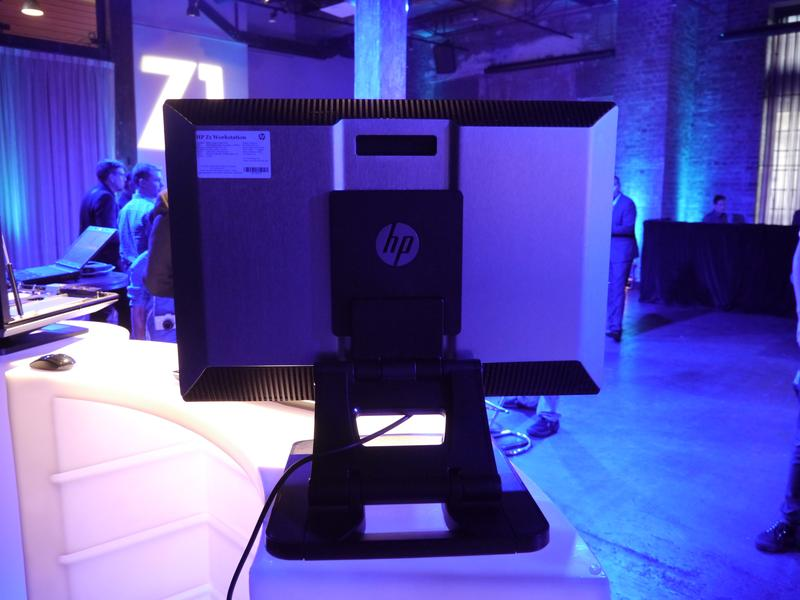 In pictures: HP Z1 all-in-one workstation PC