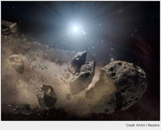 In Pictures: The sizzling world of asteroids