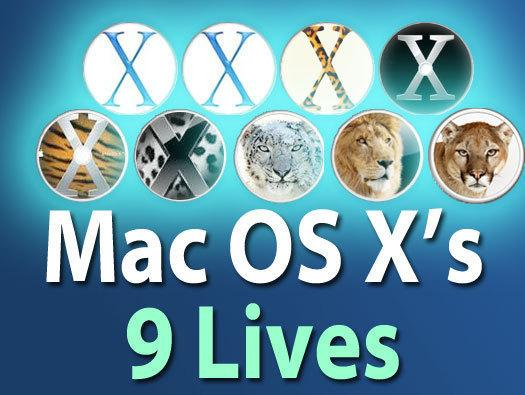 In Pictures: Mac OS X's 9 lives