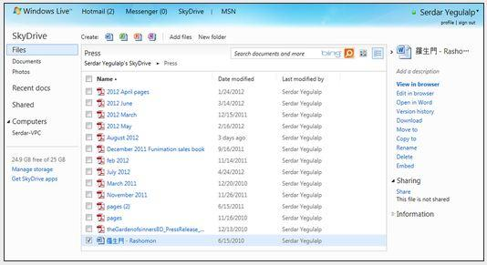 In Pictures: 10 file-sharing options