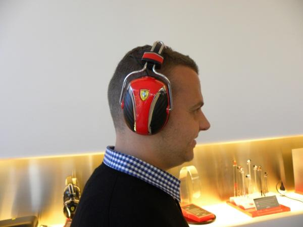 IN PICTURES: Ferrari by Logic3 audio products launch (50 photos)
