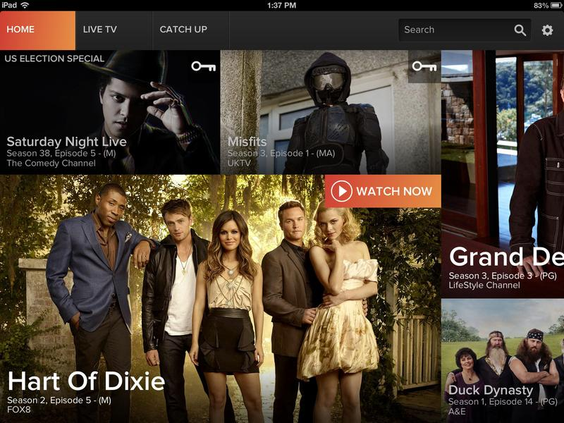 In pictures: Foxtel Go for iPad