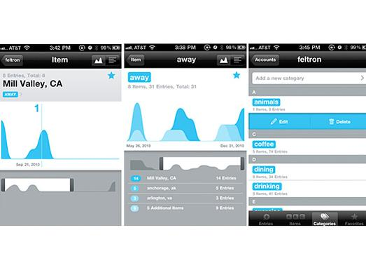 In Pictures: Mobile apps for me, me, me