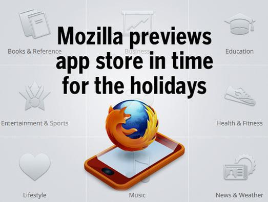 In Pictures: Mozilla previews app store in time for the holidays
