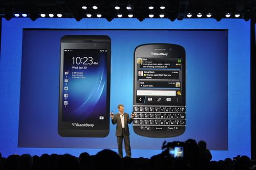 BlackBerry Z10: Hands on with the first BlackBerry 10 smartphone