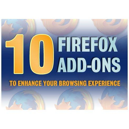 10 Firefox add-ons for better browsing