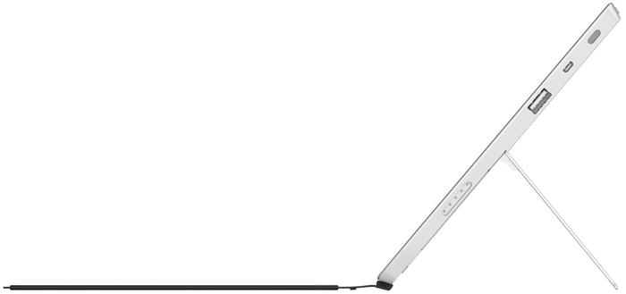The Surface 2 retains a very similar design to its predecessor, but comes in a new silver colour variant.