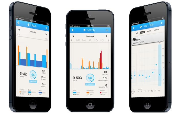 The Pulse syncs with the Withings's Health Mate app, which is available for both Android and iOS devices.