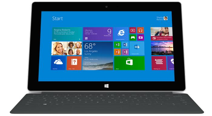"""Microsoft says it didn't try to """"reinvent the wheel"""" with the Surface 2, only improve it."""