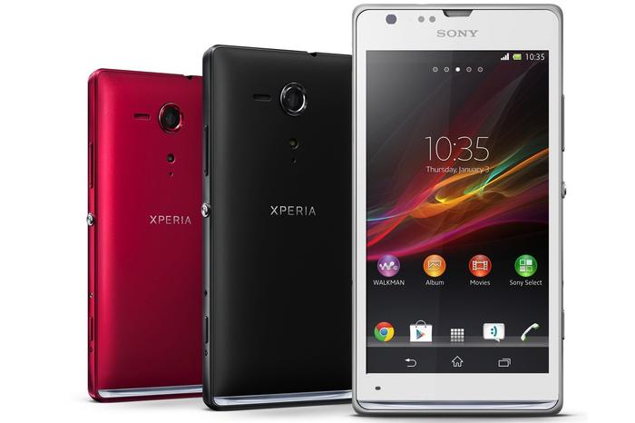 The Sony Xperia SP Android phone: now available through Virgin Mobile in Australia.