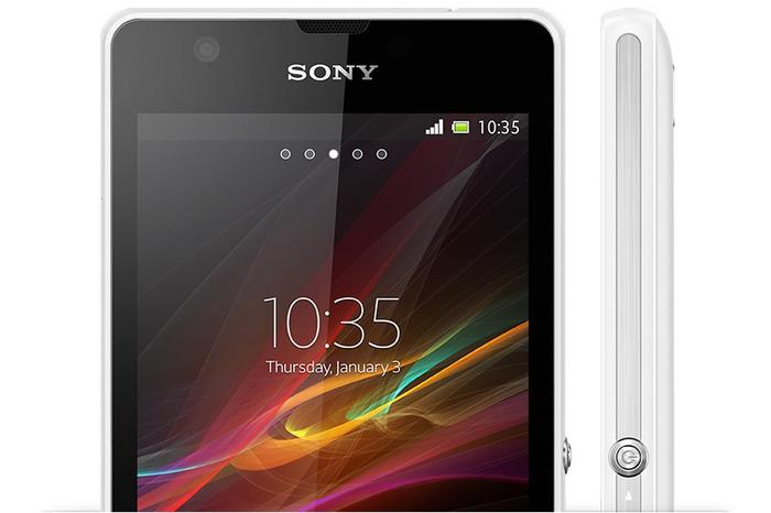 The Xperia ZR has a 4.55-inch LCD screen with a 720p resolution of 1280x720.