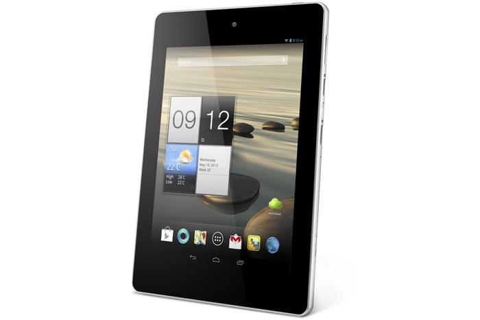 The Acer Iconia A1-810 Android tablet: available now.