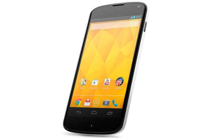 "Harvey Norman will sell the new white Google Nexus 4 from ""mid-June""."