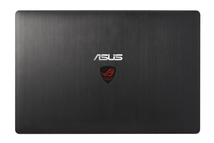 The brushed lid looks classy, and the lit-up ROG logo gives it a bit of ooh-aah.