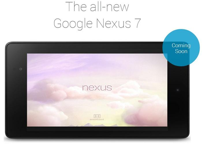 "The Nexus 7 is listed as ""coming soon"" on the Australian Play Store."