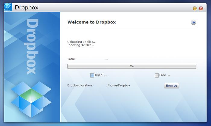 The Dropbox app adds simple and useful Dropbox integration on a per-user basis.