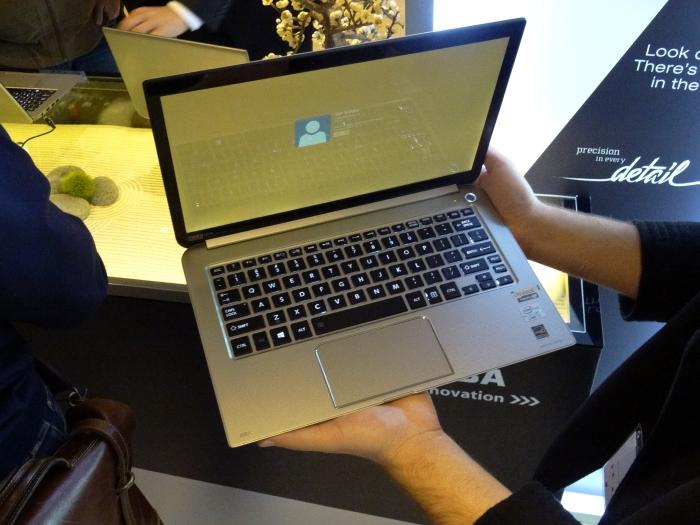 KIRA: Toshiba's 13.3in laptop for users who are after a premium product.