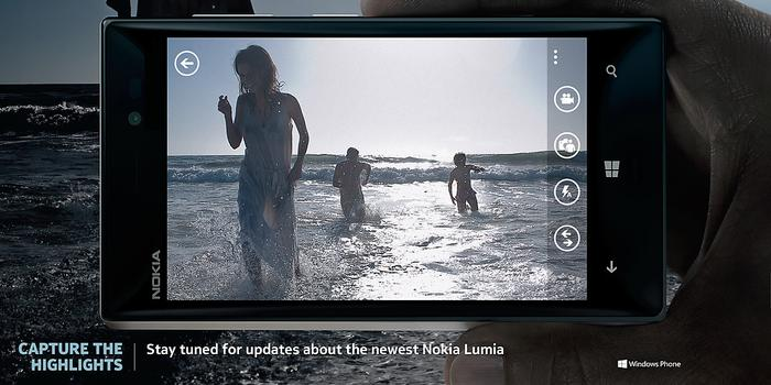 The Lumia 928 promo image published on Nokia's US website.