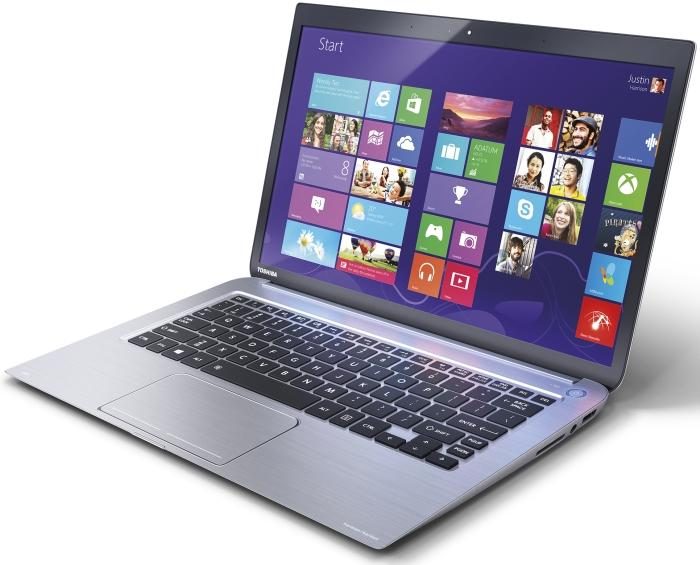 Toshiba's KIRA features a 2560x1440-pixel (PixelPure) screen in a 13.3in Ultrabook frame.