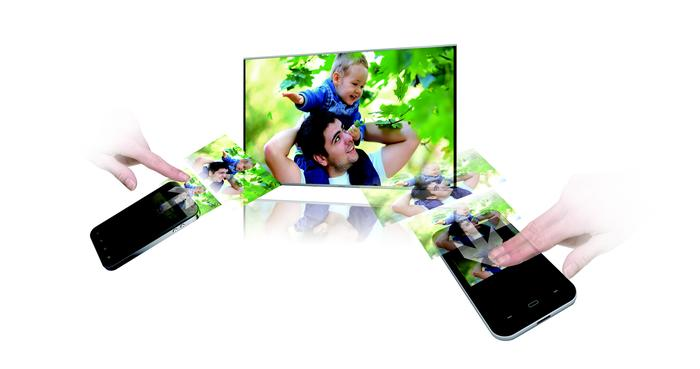 Content sharing is a key part of the Panasonic home entertainment experience