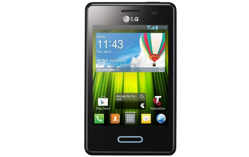 The LG Optimus L3 II is available now through Telstra for $99.