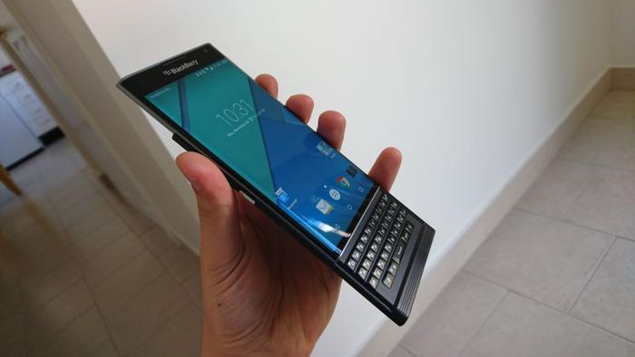 BlackBerry's Priv hides a physical keyboard? Find out if it's worth while in our upcoming review