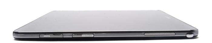 The right side has the SIM slot, a microSD card slot, and the holder for the S Pen.