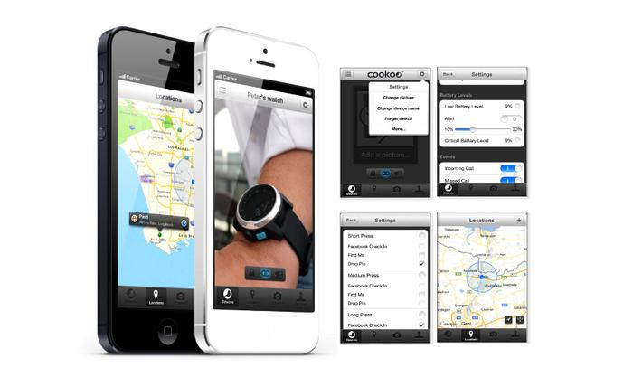 The Cookoo watch is currently limited to iOS smartphones including the iPhone 4S and iPhone 5.