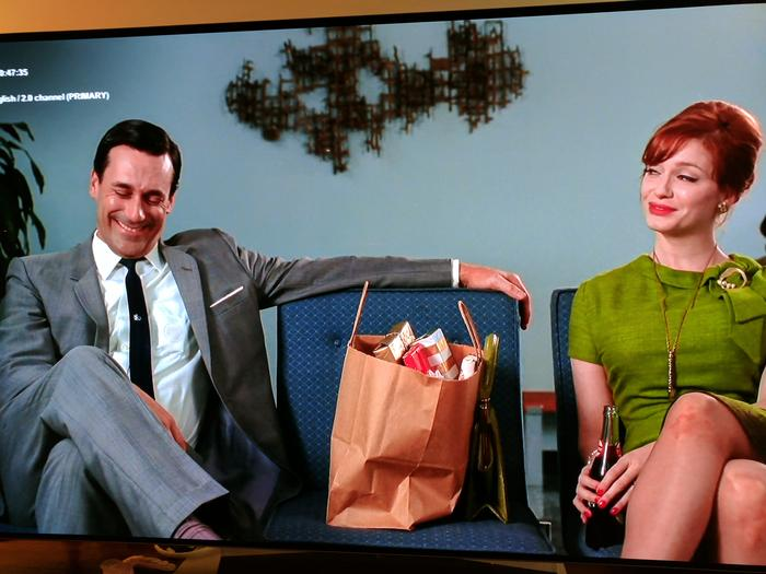 Mad Men on Netflix in Full HD looked excellent.