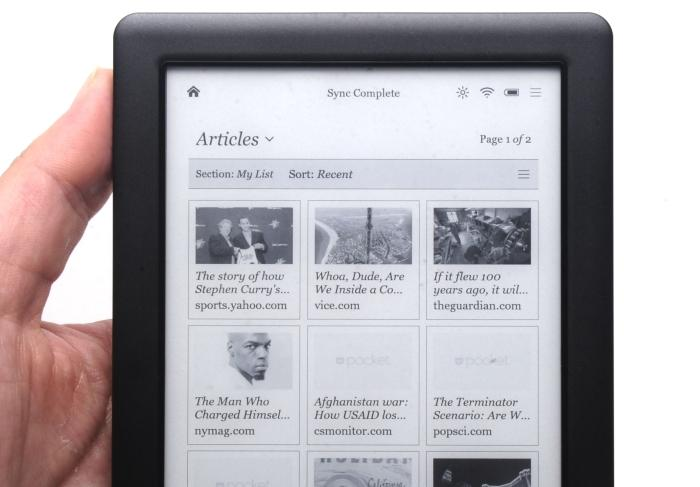 Use Pocket to save long Web reads to your Kobo.