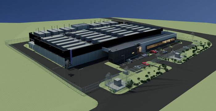 A render of the Western Sydney centre's layout.