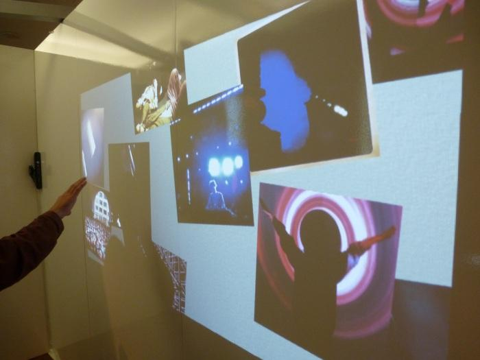 """Emotions Through Images: another interactive installation designed to capture the sentiment of each image through a """"mood map""""."""