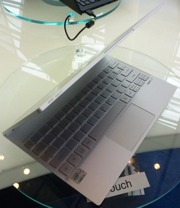 The aluminium Acer Aspire S7.