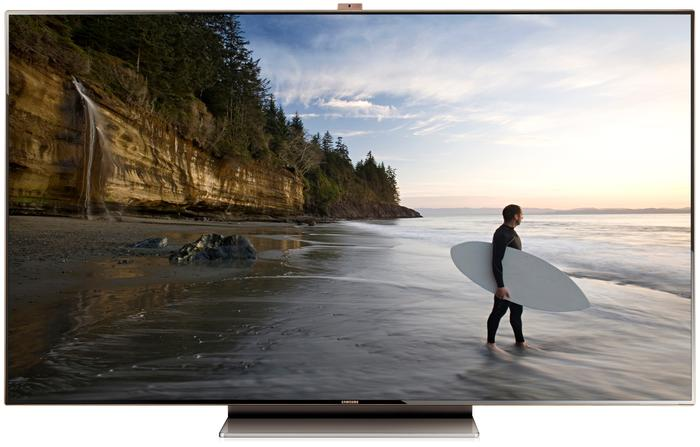 Samsung's 75-inch, Full HD Series 9 LED TV.