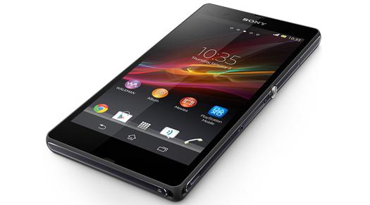 Sony says the Xperia Z can be submerged in water for up to 30 minutes.