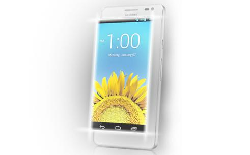 The Ascend D2 has a 5in display with a full HD resolution of 1920x1080.