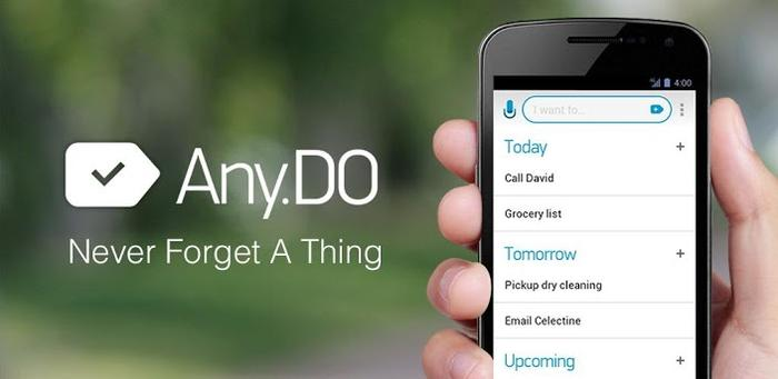 The Any.Do app, as it appears on the Google Play Store.