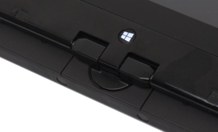 The central hinge allows the Twist to be converted into a tablet with ease.