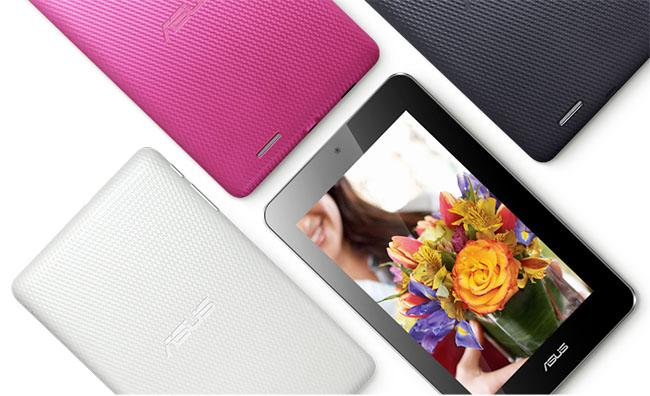 The MeMO Pad will be available in three colours including white, titanium grey and pink.