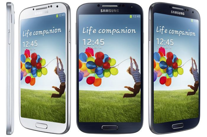 The recently-announced Samsung Galaxy S4.