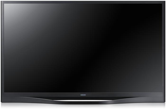 The Samsung F8500 plasma TV, which also supports HEVC decoding.