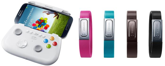 Samsung will sell a range of accessories for the Galaxy S4.