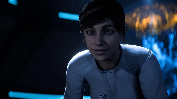 We reviewed the game on XBox One but the only significant graphical improvements appear on PC. Here is a version of Ryder but you can choose many different faces for your hero/heroine.