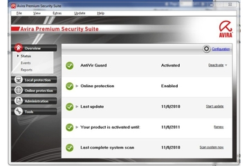 Avira Premium Internet Security Suite 10